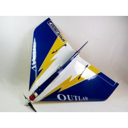 "E-OUTLAW 36"" V2 ARF bleu ""Speed Freak"""