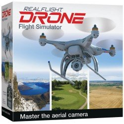 Simulateur REALFLIGHT  Drone Edition + GAME COMMANDER MODE 2