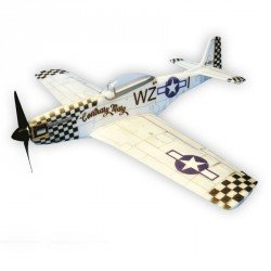 P 51-D MUSTANG CONTRARY MARY 84 cm ARF HACKER MODEL