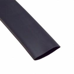 Gaine thermorétractable 50mm noir 1M
