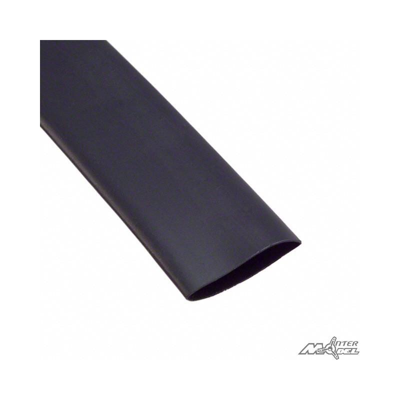 gaine thermor tractable 50mm noir 1m intermodel. Black Bedroom Furniture Sets. Home Design Ideas