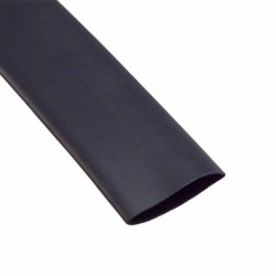 Gaine thermorétractable 38mm noir 1M