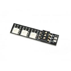 BARRE DE LEDS RGB 4-6V DC MATEK