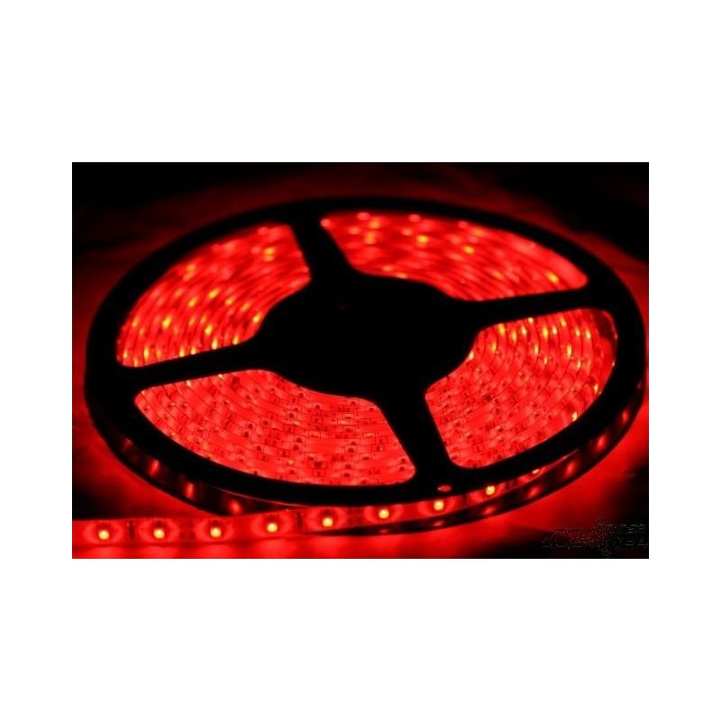 ruban led eco rouge haute densite 5m 60led intermodel. Black Bedroom Furniture Sets. Home Design Ideas