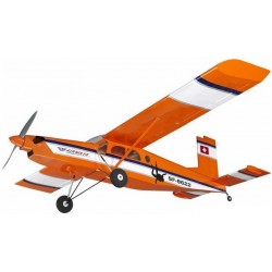 PILATUS PC6 ORANGE 1610MM EP/GP AIRLINE