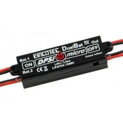 DPSI Micro DualBat 5.9V / 7.2V MPX-2xMPX