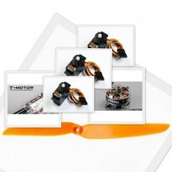 Eco Set équipement pour Backyard 200gr (motorisation, servos)