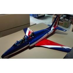 SUPER GALEB G-4 ARF 2372MM ROUGE / BLEU TOP RC MODEL