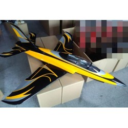 "SPORT JET ODYSSEY ""JAUNE FANTASY"" 2190MM ARF TOP RC MODEL"