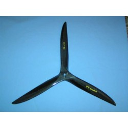 Hélice carbone tripale 25x12 PT Model