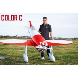 GEE BEE R4 V2 ROUGE/BLANC 2.8M