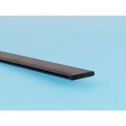 Plat carbone 1x3mm