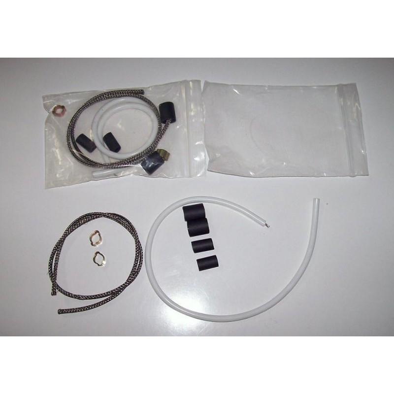 Kit reparation cable haut voltage avec tresse intermodel - Kit reparation carbone ...