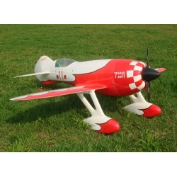 GEE BEE R4 V2 ROUGE/BLANC 2.2M