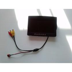 """ECRAN LCD 7"""" 800X480 AVEC RECEPTEUR 5.8GHZ INTEGRE"""