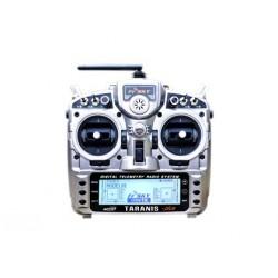 Radio Taranis PLUS 16 voies valise (mode 1)+ Récepteur X8R FrSky
