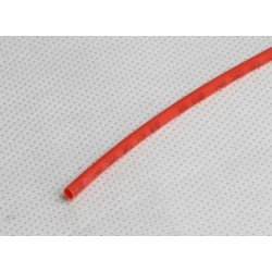 Gaine thermorétractable 3mm rouge 1M