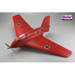 Hacker Me-163 Rouge ARTF Combo