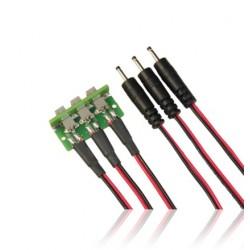 Cordon d'extension pour 3 batteries PowerBox
