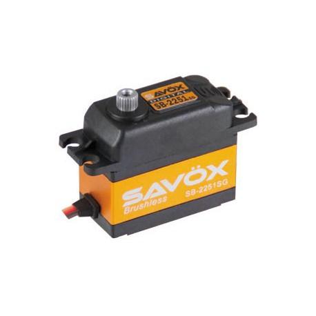 SAVOX SB-2251SG 65grs/15kg